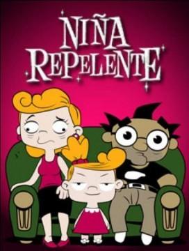 Nina repelente webserie cartel poster