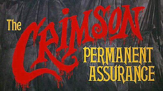 Seguros permanentes Crimson. Cortometraje Terry Gilliam Monthy Python