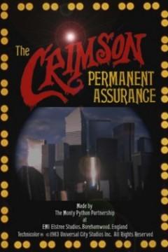 Seguros permanentes Crimson cortometraje cartel poster