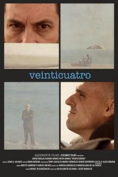 Veinticuatro cortometraje cartel poster