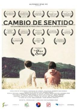 Cambio de sentido cortometraje cartel poster