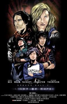 Dragon Ball Z Light of Hope cortometraje cartel