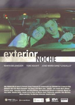 Exterior noche cortometraje cartel poster