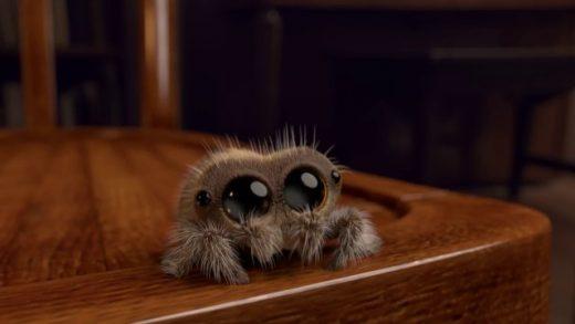 Lucas The Spider. Cortometraje de animación de Joshua Slice