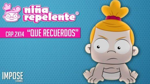 Niña repelente - Capítulo 2x14: Qué recuerdos. Webserie española