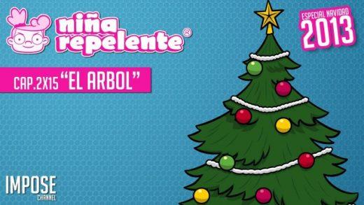 Niña repelente - Capítulo 2x15: El árbol de Navidad. Webserie española