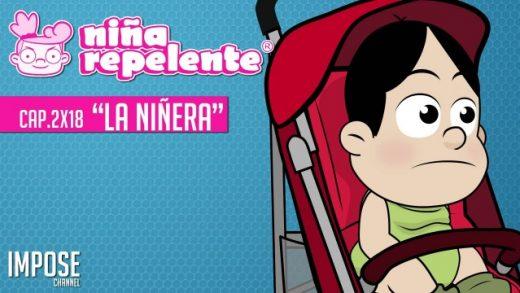 Niña repelente - Capítulo 2x18: Cuidando a un bebé. Webserie española