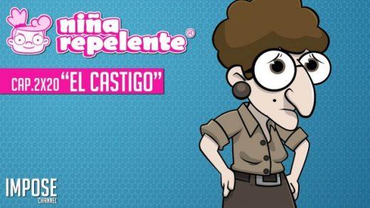 Niña repelente - Capítulo 2x20: Buscar trabajo en España: El castigo