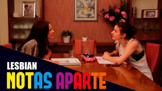 Notas aparte - Capítulo 1x01: Lesbiana. Webserie LGBT española