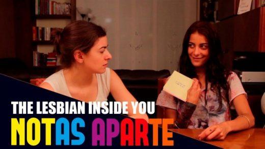 Notas aparte - Capítulo 1x03: La lesbiana que llevas dentro. Webserie LGBT