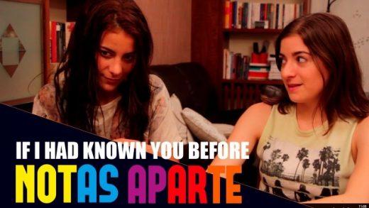 Notas aparte - Capítulo 1x04:Si te hubiera conocido antes. Webserie LGBT