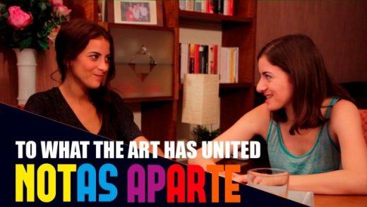 Notas aparte - Capítulo 1x06: Lo que ha unido el arte. Webserie LGBT