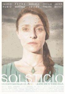 Solsticio cortometraje cartel poster