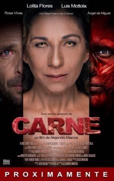 Carne cortometraje cartel poster