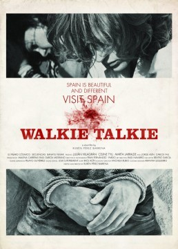 Walkie Talkie cortometraje cartel poster