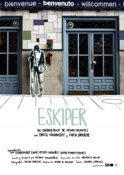 Eskiper cortometraje cartel poster