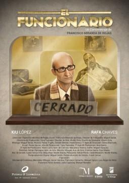 El Funcionario cortometraje cartel poster