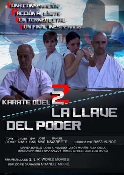 La llave del poder, Karate duel 2 cortometraje cartel poster