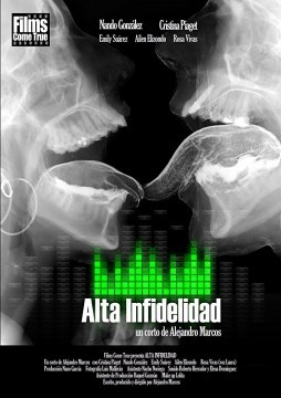 Alta infidelidad cortometraje cartel poster