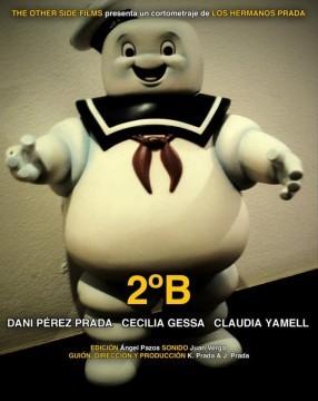 2ºB cortometraje cartel poster
