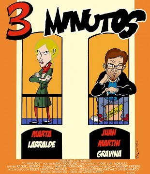 3 minutos cortometraje cartel poster