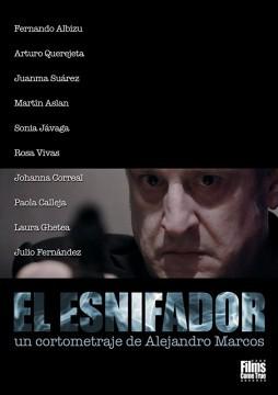 El esnifador cortometraje cartel poster