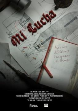 Mi lucha cortometraje cartel poster