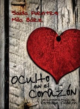 Oculto en el corazon cortometraje cartel poster