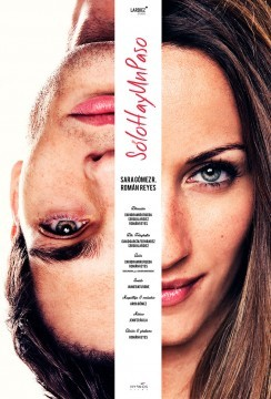 Solo hay un paso (shup) cortometraje cartel poster