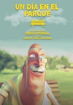 Un día en el parque cortometraje cartel poster