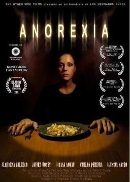 Anorexia cortometraje cartel poster