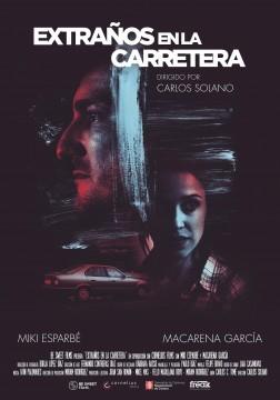 Extraños en la carretera cortometraje cartel poster