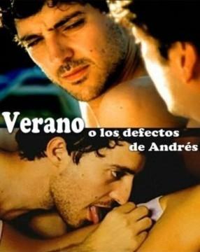 Verano o Los defectos de Andrés cortometraje cartel poster