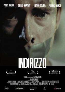 Indirizzo cortometraje cartel poster