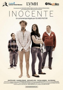 Inocente cortometraje cartel poster