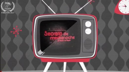 Secretos de medianoche. Cortometraje dirigido por Álvaro Jiménez