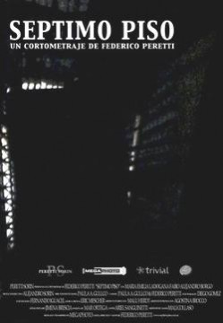 Séptimo piso cortometraje cartel poster