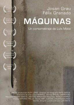 Máquinas cortometraje cartel poster