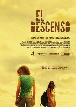 El descenso cortometraje cartel poster