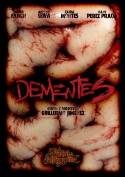 Dementes cortometraje cartel poster