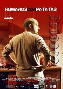 Humanos con patatas cortometraje cartel poster