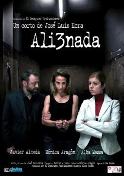 Alienada Cortometraje cartel poster