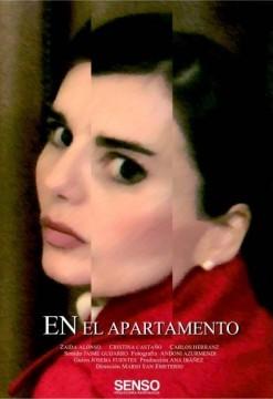En el apartamento cortometraje cartel poster
