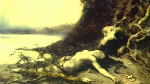 La sirena. Cortometraje de animación de Aleksandr Petrov