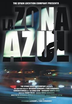 La zona azul cortometraje cartel posterq