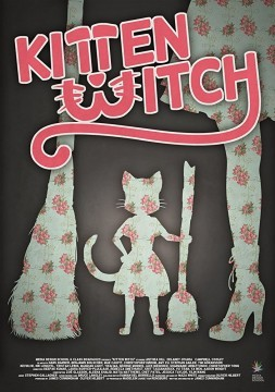 Kitten Witch cortometraje cartel poster