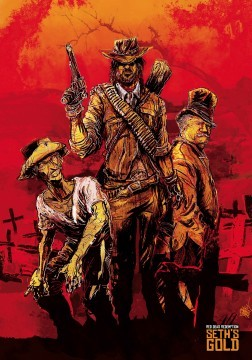Red Dead Redemption Seth's Gold cortometraje cartel poster