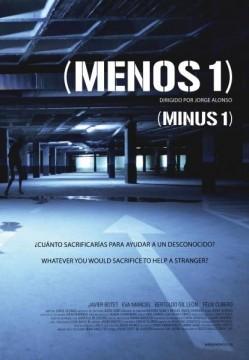 Menos 1 cortometraje cartel poster