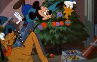Mickey Mouse: El árbol de Navidad de Pluto. Cortometraje de Walt Disney