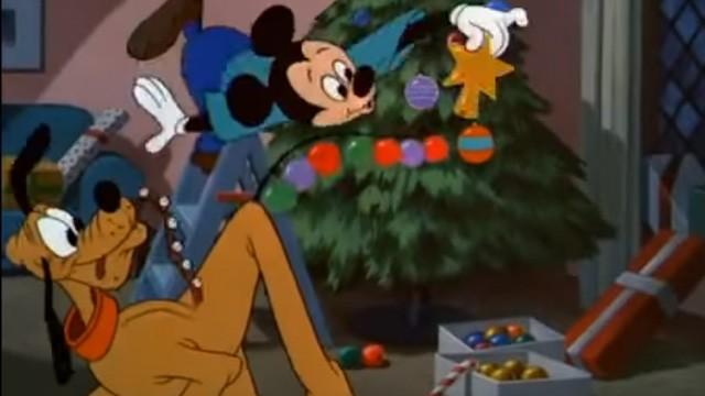 El arbol de navidad de pluto